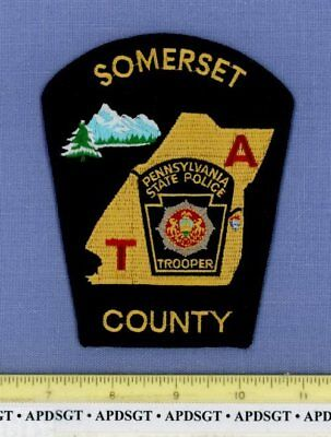 PENNSYLVANIA STATE TROOPER • SOMERSET COUNTY Sheriff Highway Patrol Police Patch