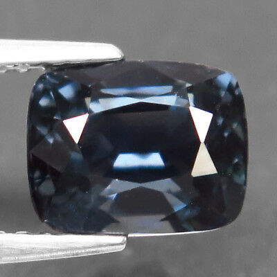 2.73ct.Delightful Gem! 100%Natural Gem Silver Blue Spinel Unheated AAA Nice Nr!