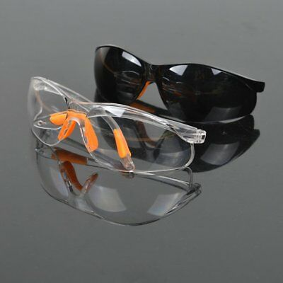 Windproof Eye Protection Lab Outdoor Work Protective Safety Goggles Glasses CU