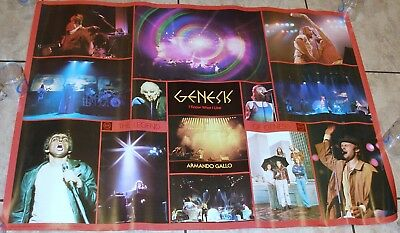 Armando Gallo Genesis The Legend  'i Know What I Like'  Book Promo Poster