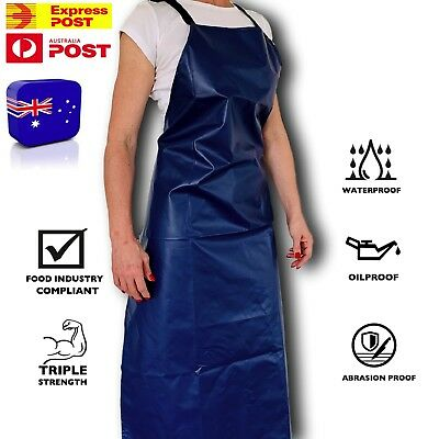 PVC APRON Protective Industrial Aprons WaterProof HEAVY DUTY Oil Chemical Proof