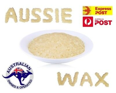 Pure Organic Australian Beeswax Pellets Drop Cosmetic Beads Candle Soap Bees Wax