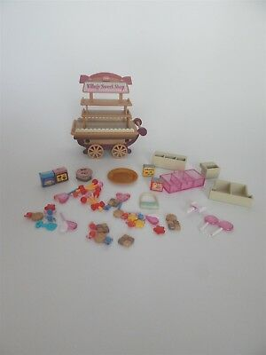 Sylvanian Families - Sweet Shop and accessories- Epoch