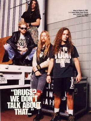 """007 Alice in Chains - American Rock Band Music 14""""x18"""" Poster"""