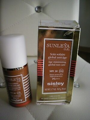 Sunleya Sisley, Soin Solaire Anti Age , Spf 30, Haute Protection , 50 Ml