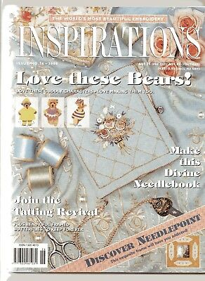 INSPIRATIONS.  Issue No: 26,  from Country Bumpkin,   Beautiful Embroidery