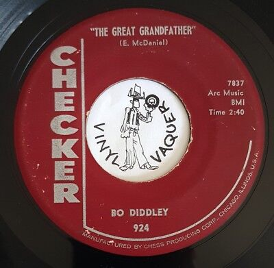 R'n'B 45 BO DIDDLEY The Great Grandfather CHECKER (USA, 1959) second pressing