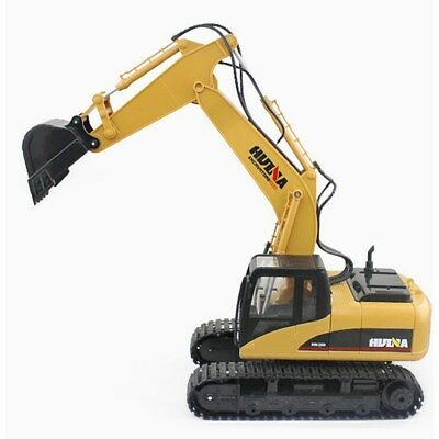 Hydraulic Excavator Toy Remote Control Wireless Truck Digger Lights Construction