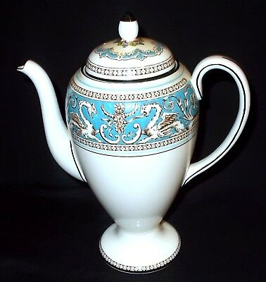 Wedgwood FLORENTINE (Turquoise) Coffee Pot
