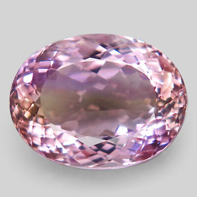 18.97ct.Impressive Gem! 100%Natural Bi Color Ametrine Unheated Bolivia AAA Nr!