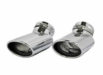 2pcs Car Parts OVAL TIP EXHAUST MUFFLER TAIL PIPE TIP RANGE ROVER SPORT DIESEL