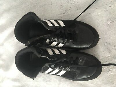 Adidas Boys Boxing Boots