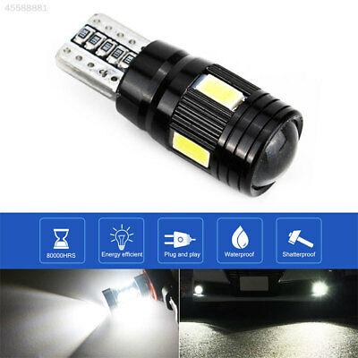 58C7 Rear Beads Car Side Light Durable T10 6 LED Light Auto Parking Tail