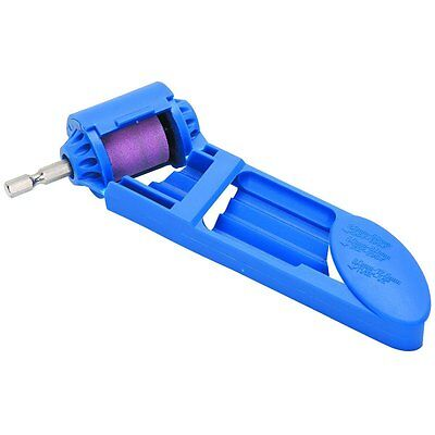 """EZ Drill Bit Sharpener with 1/4"""" Hex Shank for Power Drill DIY Tools Building"""