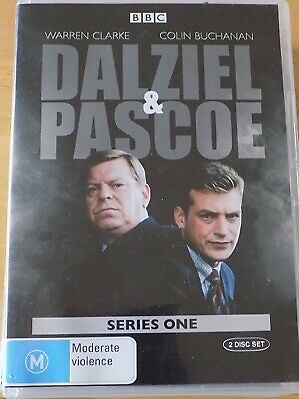 DALZIEL & PASCOE - Series 1 2 x DVD AS NEW! Complete First Season One