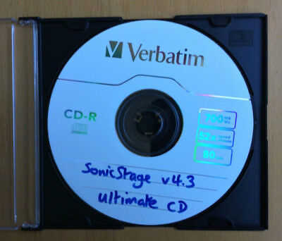 1 SonicStage v4.3 Software CD. (For Sony/Aiwa Hi-MD/NetMD/Network MD players).