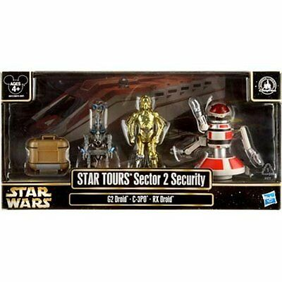 Disney STAR WARS WEEKENDS Tours Sector 2 Security Figures MINT SEALED 2013
