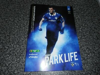 OLDHAM ATHLETIC  v  DERBY COUNTY 2018/19 CARABAO CUP (LEAGUE CUP) 1st ~ AUG 14