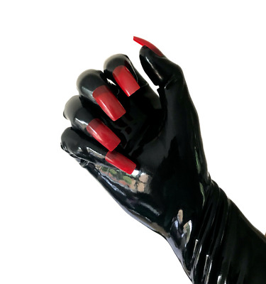 Platex Drag Latex Full Length Long Arm Nail Gloves NEW - RRP £100