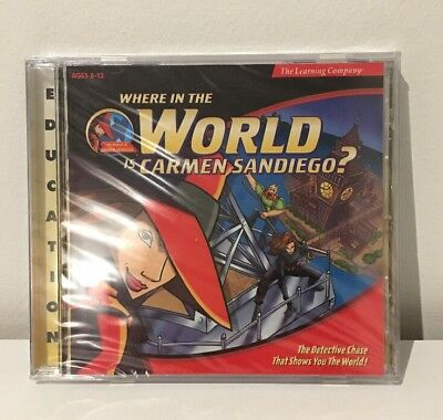 Where In The World Is Carmen Sandiego? - CD ROM