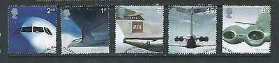 GB 2002 - Aircraft - set - very fine used