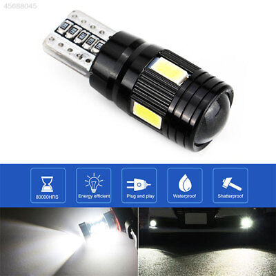 989F Rear Beads Car Side Light Durable T10 6 LED Light Auto Parking Tail