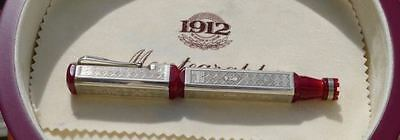 Montegrappa Marostica sterling/red limited edition fountain pen