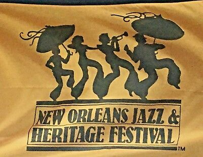2018 New Orleans Jazz And Heritage Festival Official Flag 3'x5' Fest Undated