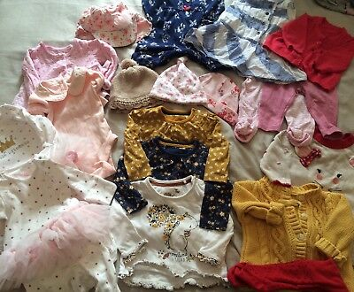 baby girls clothes bundle 0 3 months Including Next, Gap Etc