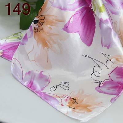 Office Women Ladies Elegant Small square Scarves Silky Office Kerchief Scarf 149