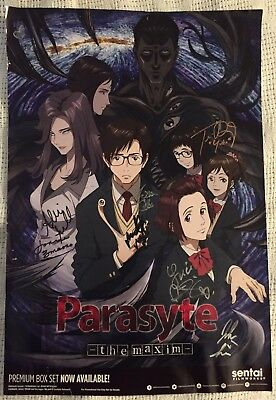 Parasyte -the maxim- Cast Signed Poster