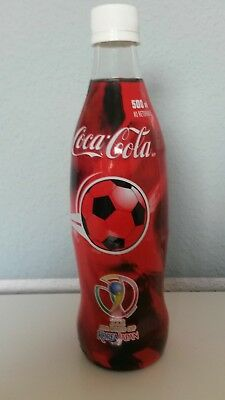 0,5 Liter Coca Cola Glasflasche USA Fifa World Cup Korea Japan