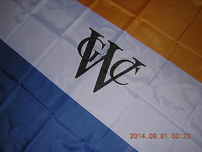 Flag of Dutch West India Company WIC 1621-1792 Orange White Blue Ensign.3ftX5ft