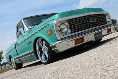 Chevrolet C-10  1971 Chevy C-10,RestoMod,350ci V8,PDB,PS,Air Ride,Bagged,AC,Rat Rod,Patina!