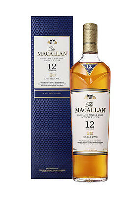 BOTELLA WHISKY THE MACALLAN 12 YEARS DOUBLE CASK (BOXED) · 2018 (70cl, 40%)
