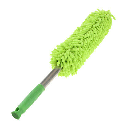 Microfibre Cleaning Mop Car Computer TV Household Hand Dusting Brush Green