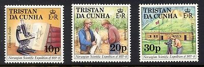 TRISTAN Da CUNHA 1987 SHIPS 50th Norwegian Scientific Exp Sg434/6