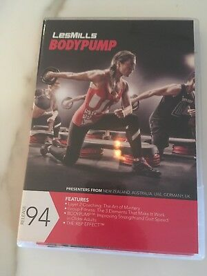 Les Mills Body Pump 94 Instructor Kit - DVD and CD