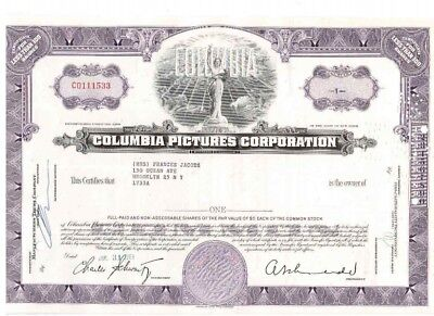 Columbia Pictures Corporation  1961