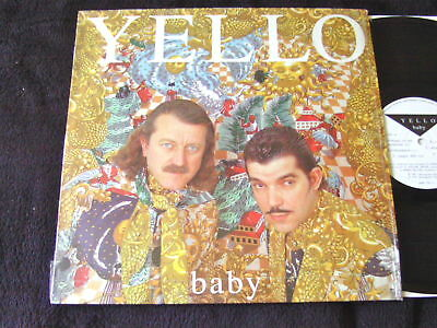 "Yello ""Baby"" In Shrink Near Mint Rare 1991 Album"