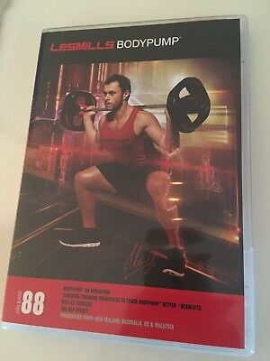 Les Mills Body Pump 88 Instructor Kit - DVD and CD