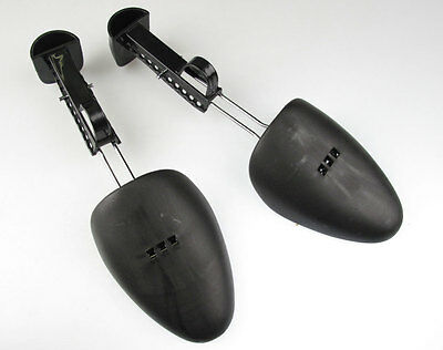 2 Pair Women Men Adjustable Shoe Trees Keepers Support Stretcher Expander Shaper