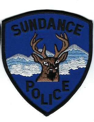 Sundance (Crook County) WY Wyoming Police Dept. patch - NEW!