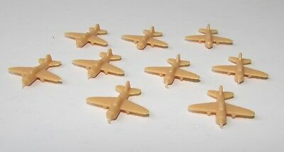 AXIS & ALLIES 1987 Game Replacement Parts  PLANES YELLOW 9 Planes
