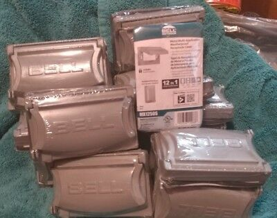 Bell Weatherproof Receptacle Cover MX1250S Gray Qty 20