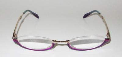 013fe4790d0 Judith Leiber Optical Folding Eyeglasses JL 1303 07 23-135 Purple Half Frame