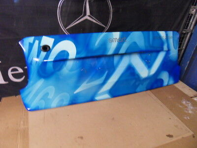 smart car fortwo cabriolet BOOT PANEL NUMERIC BLUE 1999-07