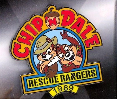 Disney 100 Years of Dreams Chip & Dale Rescue Rangers Afternoon Pin & Card