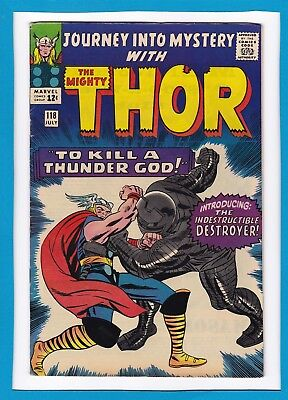 JOURNEY INTO MYSTERY #118_JULY 1965_F/VF_MIGHTY THOR_1st APPEARANCE DESTROYER!