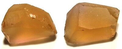 36.20 Carats, Internally Flawless Champagne Citrine Facet Rough From Bolivia